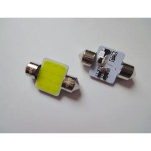 T10 x 31mm/3W POWER COB LED (17mm x 14mm) ホワイト/6000K/単品 1個|mine-shop