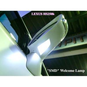 LEXUS HS250h/Epistar 3030 Power SMD ドアミラーウエルカムランプ/ANF10 mine-shop
