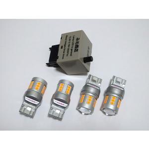 レクサス専用!! ウインカーランプ LED キット LEXUS HS250h前期/Epistar 2835LED Type mine-shop