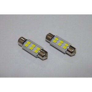 T10 x 37(36)mm/1,8W POWER 2835 LED/ホワイト 6000K/単品 1個|mine-shop