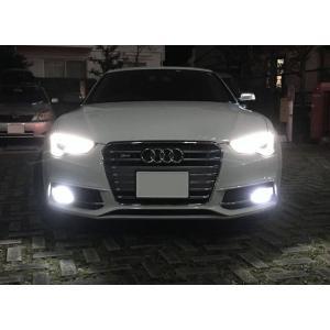 アウディ A5・S5 スポーツバック 8T (B8)/LEDフォグランプ/POWER COB LED/クローム加工(ホワイト・イエロー)/AUDI A5・S5 Sportback 8T (B8)|mine-shop
