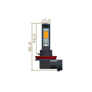 LEDフォグランプ/POWER COB LED/クローム加工/1200LM〜1500LM(ホワイト・イエロー)H8/H9/H11/H16(JP) 兼用 mine-shop 06