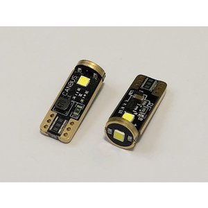 T10/Epistar 3030 monster LED(3pcs)/300LM/CANBUS キャンセラー内蔵/2個セット|mine-shop