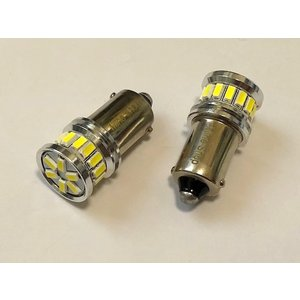 BA9S (G14)180°ピン/L.M monster SMD3014(20pcs) 300LM・6000K/2個セット|mine-shop