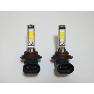 LEDフォグランプ/POWER COB LED/クローム加工/1200LM〜1500LM(ホワイト・イエロー)HB4 (9006)|mine-shop