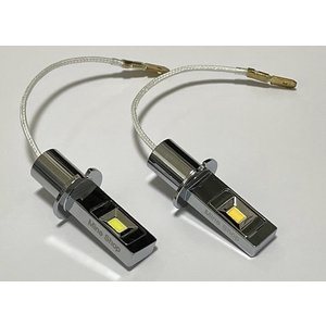 LEDフォグランプ・H3/CSP Power LED(6pcs) 1500LM(ホワイト・イエロー)H3(24V専用LED) mine-shop