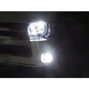 200系ハイエース 3型後期・4型・5型 [強烈な輝度 2500ルーメン] LEDフォグランプ/Epistar 3030 LED(ホワイト・イエロー)GDH・ KDH・TRH2##(H24.5〜)|mine-shop