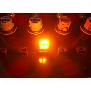 T10/Epistar 3030 Power LED/250LM/アンバー(橙)2個セット [T10最強の光束] mine-shop