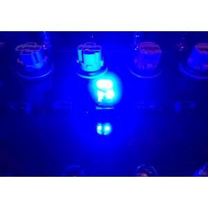 T10/Epistar 3030 Power LED/250LM/ブルー(青)2個セット [T10最強の光束] mine-shop