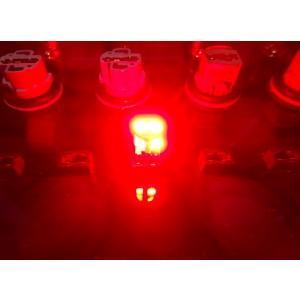 T10/Epistar 3030 Power LED/250LM/レッド(赤)2個セット [T10最強の光束] mine-shop