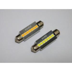 T10 x 42mm/Epistar 3030 monster LED(400LM)ワーニングキャンセラー内蔵/単品 1個(昼白色 6000K/レトロ電球色 4000K)|mine-shop