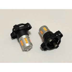 PY24W(PYA121)Epistar 2835 LED(800LM)アンバー(橙)|mine-shop