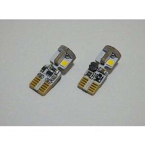 T10/Epistar 3030 Power LED/300LM/CANBUS キャンセラー内蔵/2個セット(ホワイト・ゴールドイエロー)|mine-shop|02