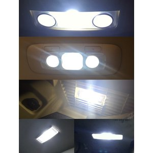 フォルクスワーゲン ゴルフ5/LED (SMD) ルームランプセット/Golf 5 GT・GTI(1K#)|mine-shop