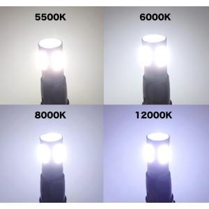 T10/Epistar 3030 Power LED(9pcs) 400LM/色温度 K(ケルビン数)別/2個セット(5500K/6000K/8000K/12000K) mine-shop 04
