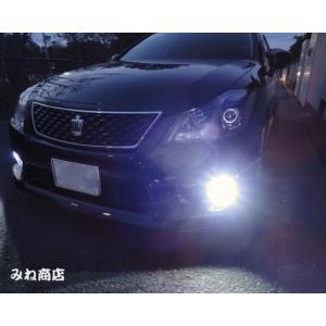 20系クラウン [強烈な輝度 2500ルーメン] LEDフォグランプ/Epistar 3030 LED(ホワイト・イエロー)20CROWN・GRS20# / GWS204|mine-shop