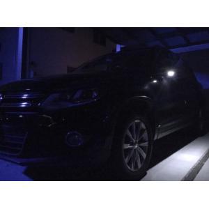 フォルクスワーゲン ティグアン/LEDドアミラーウエルカムランプ(サイドミラー) VW Tiguan・5NCCZ|mine-shop|03