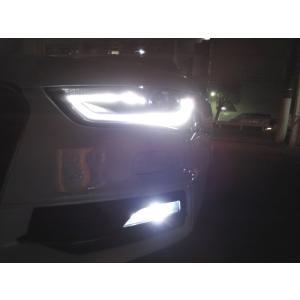 アウディA4/LEDフォグランプ/POWER COB LED/クローム加工(ホワイト・イエロー)AUDI A4/S4 8K (B8) セダン/アバント(後期)|mine-shop