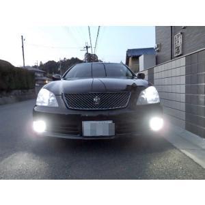 ゼロクラウン [強烈な輝度 2500ルーメン] LEDフォグランプ/Epistar 3030 LED(ホワイト・レモンイエロー)GRS18#|mine-shop