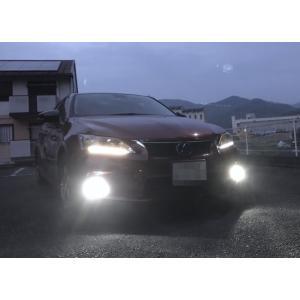 レクサスCT(前期/中期)LEDフォグランプ/POWER COB LED/クローム加工(ホワイト・イエロー)LEXUS CT200h|mine-shop