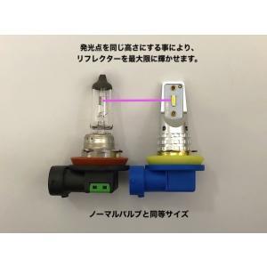 レクサスCT(前期/中期) [強烈な輝度 2500ルーメン] LEDフォグランプ/Epistar 3030 LED(ホワイト・イエロー)LEXUS CT200h|mine-shop|05