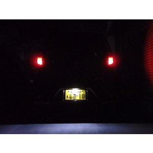 Nissan DAYZ/Epistar 3030 Power LED(300LM)ナンバー灯/日産デイズ B21W|mine-shop