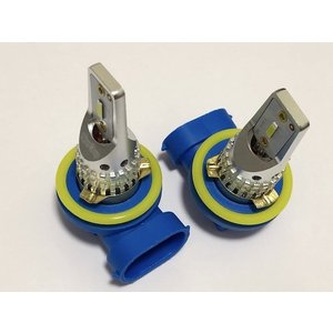 [強烈な輝度 2500ルーメン] LEDフォグランプ/Epistar 3030 LED/2500LM(ホワイト・イエロー)H8/H9/H11/H16(JP) 兼用|mine-shop