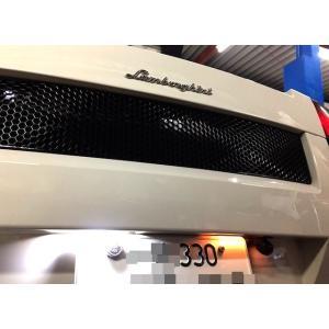 Lamborghini Gallardo/LED(SMD2835)ライセンスランプ(ナンバー灯)ランボルギーニ ガヤルド・GH-JFGE11(前期)|mine-shop|02