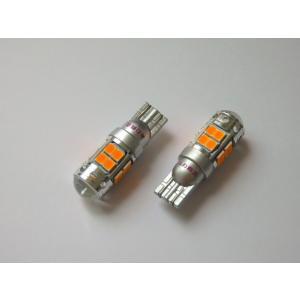ハイルーメン Epistar 2835(SMD) 18連/T16/2個セット/エピスタLED アンバー(橙)|mine-shop