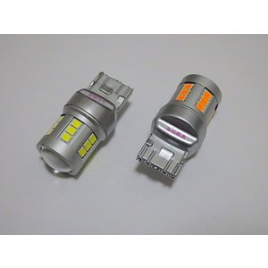 T20/7440(シングル)Epistar 2835 LED(800LM)/2個セット(白・橙)|mine-shop