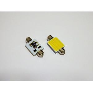 T8×28mm/1,5W POWER COB LED (15mm x 13mm) ホワイト/6000K/単品 1個|mine-shop