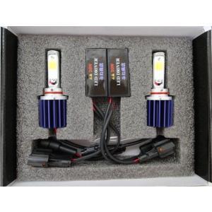 [値引き/セール] LEDフォグランプ/HIGH LUMEN POWER COB LED FOG LAMP KIT/2200lm (6000K/ホワイト) HB4 (9006)|mine-shop