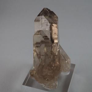 スイスのアルプス産の水晶は、大きなものが殆ど存在しません。その中でも10cm以上のものはとても希少で...