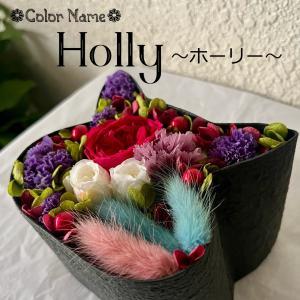 ねこばこ Holly ホーリー プリザーブドフラワー オリジナル 猫型 フラワーボックス 個性派 ギフト|mingle-h