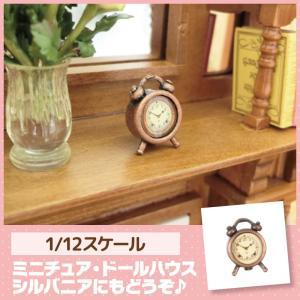 ミニチュア ドールハウス 目覚まし時計 ミニチュア小物|mini-12bunno1