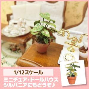 ミニチュア ドールハウス 観葉植物 ミニチュア小物|mini-12bunno1