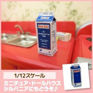 ミニチュア ドールハウス 牛乳(1/2ガロン) ミニチュア小物|mini-12bunno1