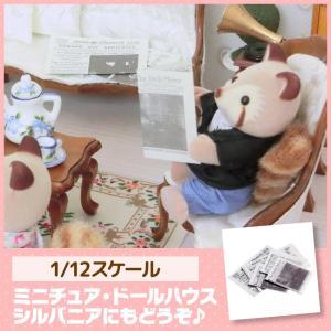 ミニチュア ドールハウス 新聞紙セット ミニチュア小物|mini-12bunno1