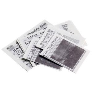 ミニチュア ドールハウス 新聞紙セット ミニチュア小物|mini-12bunno1|02