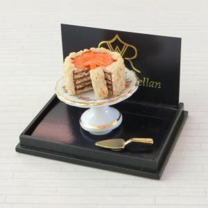 ミニチュア ドールハウス くるみケーキ|mini-12bunno1