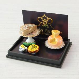 ミニチュア ドールハウス チーズプレートセット|mini-12bunno1
