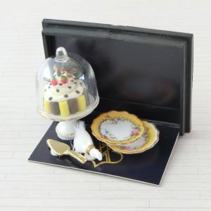 ミニチュア ドールハウス ケーキベル|mini-12bunno1