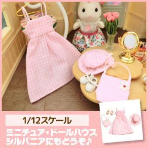 ミニチュア ドールハウス ドレスセット ミニチュア小物 mini-12bunno1