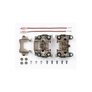 ミニ四駆 タミヤ GP.384 N-03・T-03バンパーレス LED 赤ユニット|mini4-guruguru