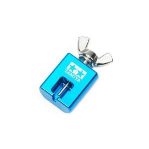 ミニ四駆 タミヤ GP.422 ミニ四駆 ピニオンプーラー ブルー|mini4-guruguru