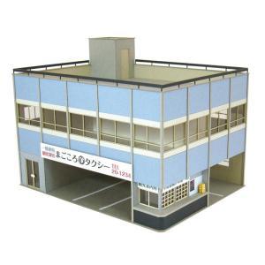 みにちゅあーとキット 1/80 情景シリーズ タクシー営業所 MK05-52|miniatuart