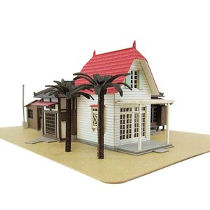 みにちゅあーとキット 1/150 スタジオジブリ作品シリーズ となりのトトロ サツキとメイの家 MK07-01 miniatuart