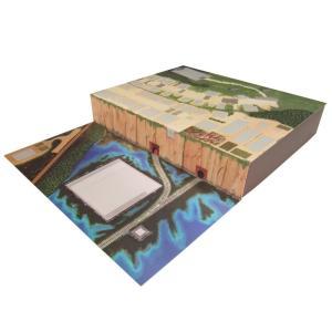 みにちゅあーとキット 1/150 スタジオジブリ作品シリーズ 千と千尋の神隠し 不思議の町ジオラマ MK07-32 miniatuart