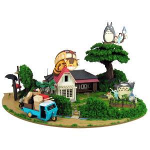 みにちゅあーとキット nonscale スタジオジブリ作品シリーズ となりのトトロ トトロがいっぱいジオラマ MK07-35 miniatuart