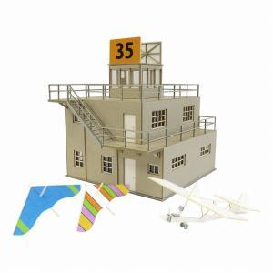 みにちゅあーとキット 1/144 航空情景シリーズ 管制塔type-B MK08-02|miniatuart